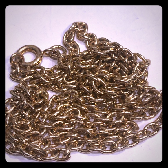 Jewelry - 24 inch gold chain